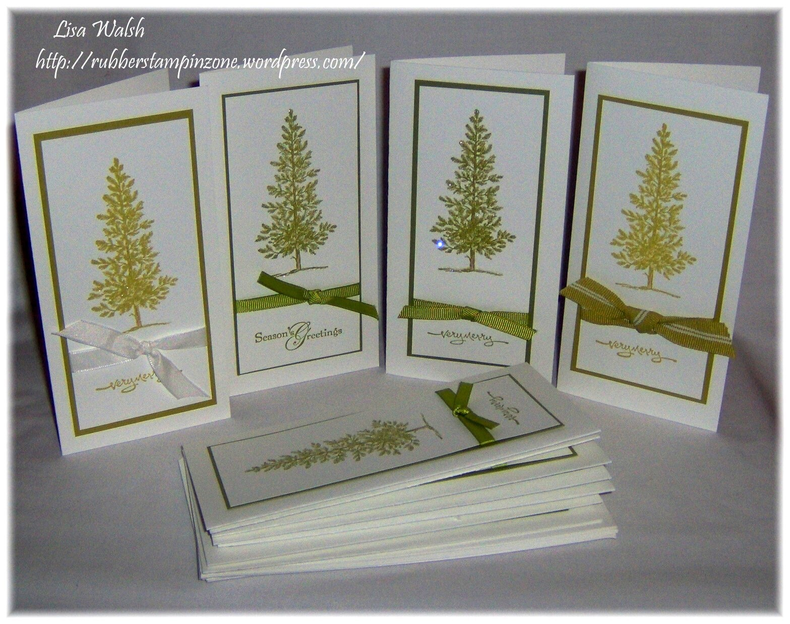 Lovely As A Tree Holiday Card Bundle