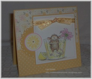 House Mouse Challenge card