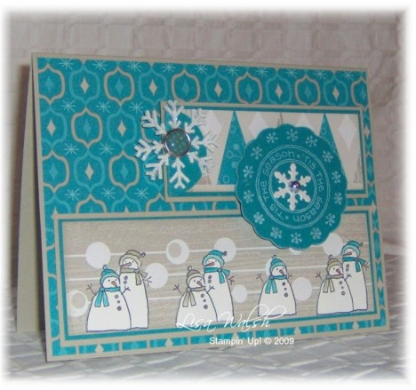 Mojo Monday 112 snowmen