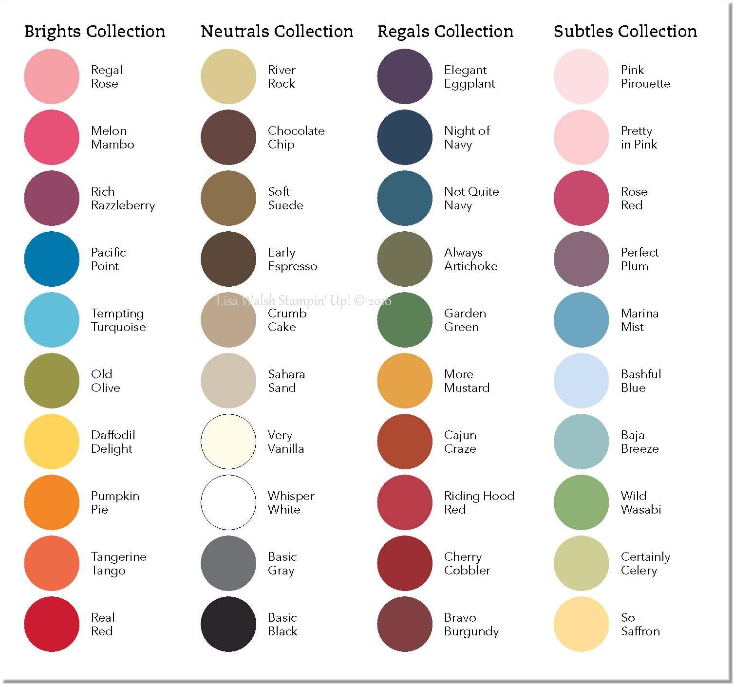 new catalog colors